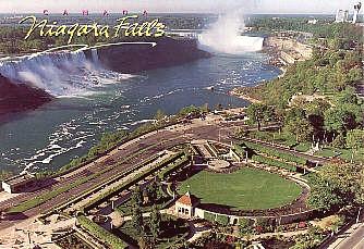 Niagara Falls Both Falls At